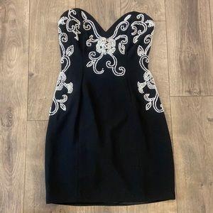Casadei vintage pearl cocktail dress